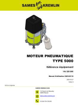 Moteur 5000 REXSON Dispense | Manuel Utilisation