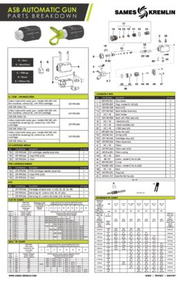 ASB Gun Spare Parts Sheet