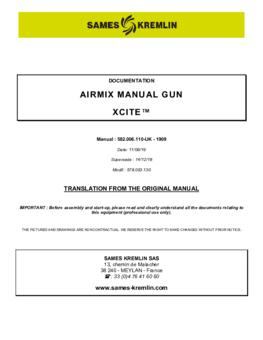 Xcite Airmix | User manual
