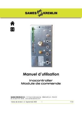 Inocontroller module de commande |Manuel d'utilisation