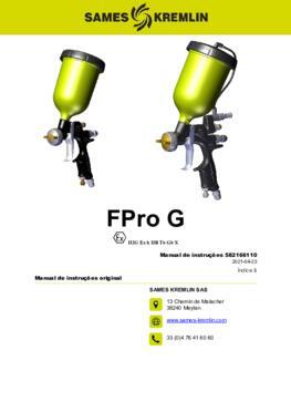 FPro G & GSP | Manual de instruções