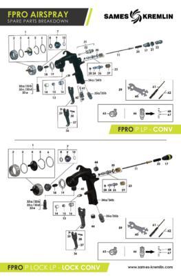 FPro Spare Parts Breakdown