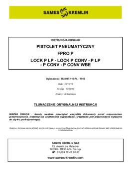 FPro/Fpro Lock  | Instrukcja