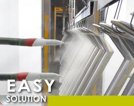 Soluzione automatica agile polvere