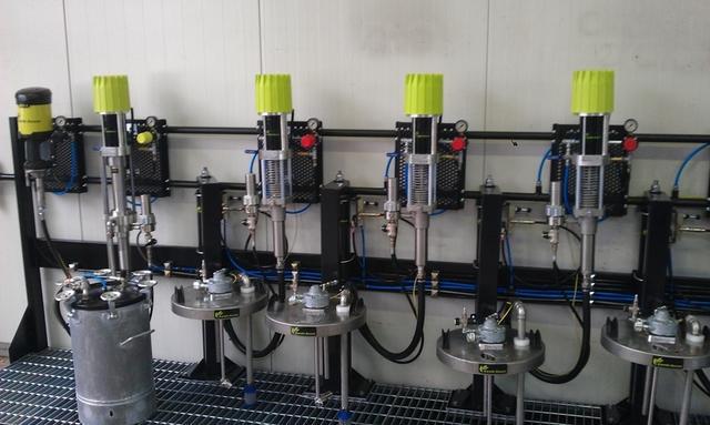 Cucina vernici liquidi per vernice multi-componenti
