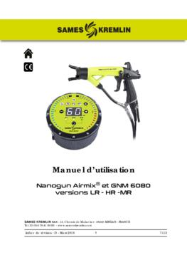 Nanogun-MX + GNM 6080 (LR - HR) | Manuel d'instructions