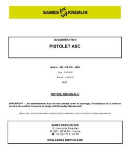 ASC / manuel d'instruction