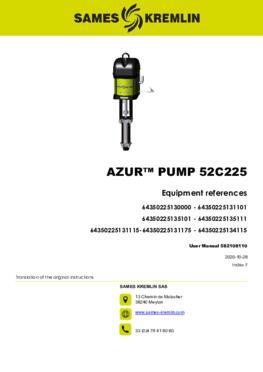 Azur™ 52C225| User manual