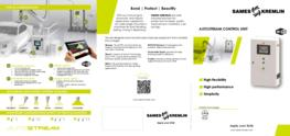 Leaflet AUTOSTREAM Control Unit (English version) SAMES KREMLIN
