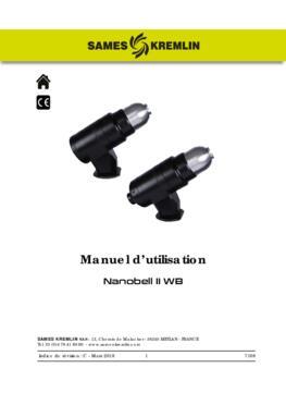Nanobell II WB   Manuel d'emploi