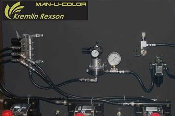 (3) Man-U-color fluid panel