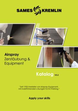 SAMES KREMLIN KATALOG AIRSPRAY Zerstäubung und Equipment v5.2