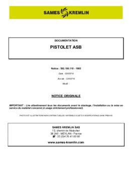 ASB / manuel d'instruction