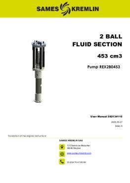 REX2B0453 REXSON Dispense |User Manual