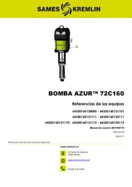 Azur™ 72C160 | Manual de usuario