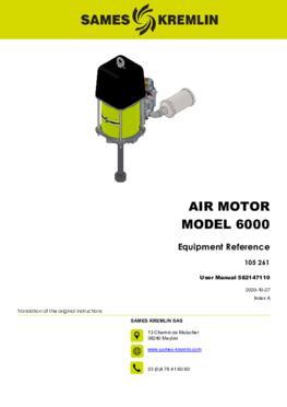 Moteur 6000 REXSON Dispense | Manuel Utilisation