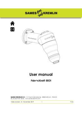 Nanobell 801 |Instructions manual
