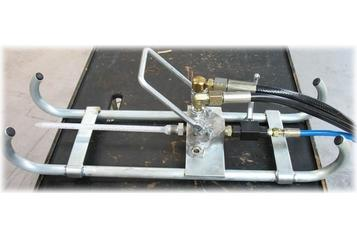 (6)  Disposable static mixer on luge