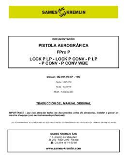 FPro/FPro Lock | Manual de instrucciones