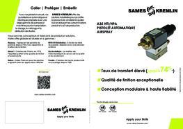 Brochure A35 Pistolet Automatique Airspray