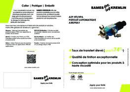 Brochure Pistolet Automatique A29 Airspray