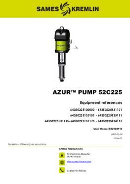 Azur™ 52C225 |User Manual