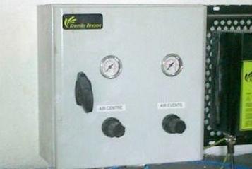 (8) Cuadro de control de aire