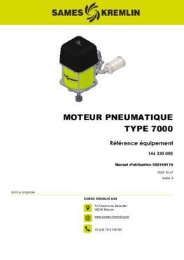 Moteur 7000 REXSON Dispense | Manuel Utilisation