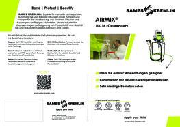 Broschüre Airmix® 10C18 Förderpumpe