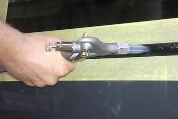 (6) Pistola de extrusión
