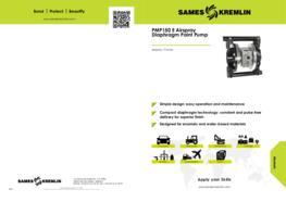 PMP150 E Airspray Diaphragm Paint Pump