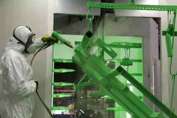 (3) Powder protective coating