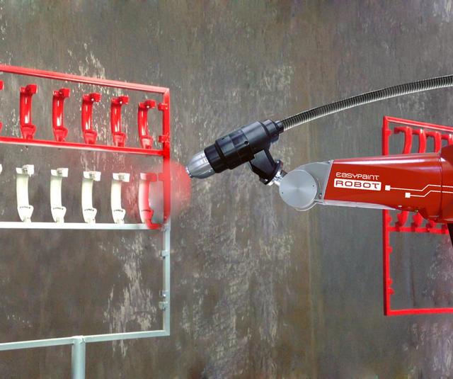 Soluciones de pulverizadores de copa robótica con tecnologías Sames
