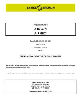 ATX Airmix   User manual