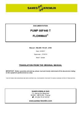 08F440 T | User manual