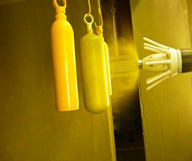 Solución de copa con carga externa