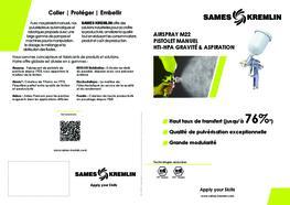 Brochure M22 Pistolet Manuel Airspray
