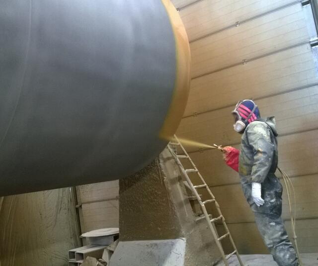 Airless® manual spraygun application