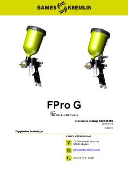 FPro G & GSP | Instrukcja obsługi