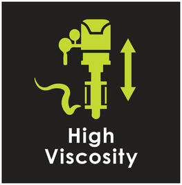 High viscosity range